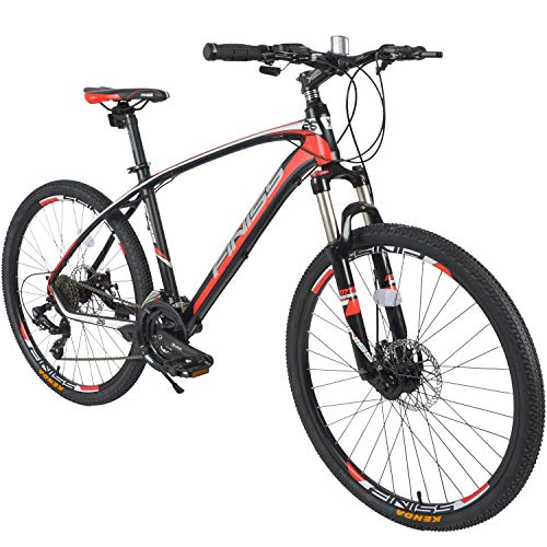 Merax-26-Aluminum-24-Speed-Mountain-Bike-with-Disc-Brakes-Lightweight-Bicycle-BlackRed-0