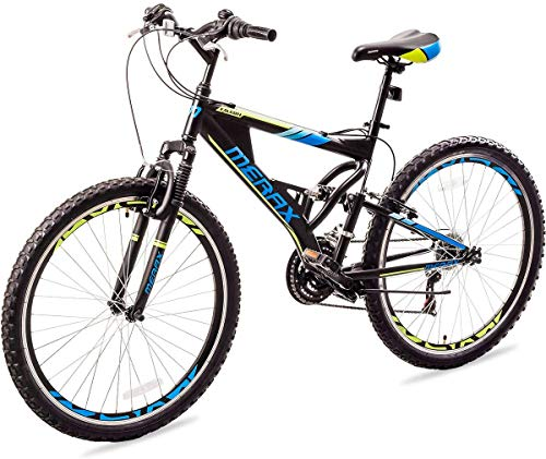 Merax-FT323-Mountain-Bike-21-Speed-Full-Suspension-Aluminum-Frame-MTB-Bicycle-26-inch-Blue-0