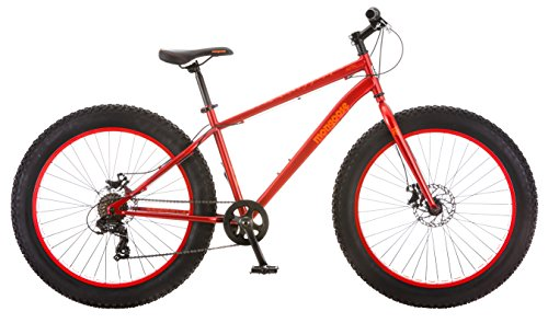 Mongoose-Aztec-Fat-Tire-Bicycle-Red-0