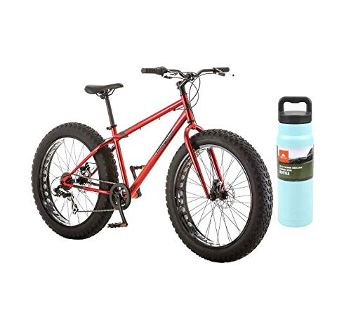 Mongoose-Hitch-Fat-Tire-Mountain-Bike-with-Teal-Bottle-Hitch-0