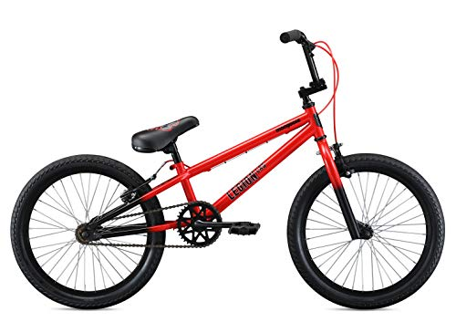 Mongoose-Legion-LSX-Freestyle-BMX-Bike-for-Kids-Featuring-Hi-Ten-Steel-Frame-and-36x16T-BMX-Gearing-with-20-Inch-Wheels-Red-0-0