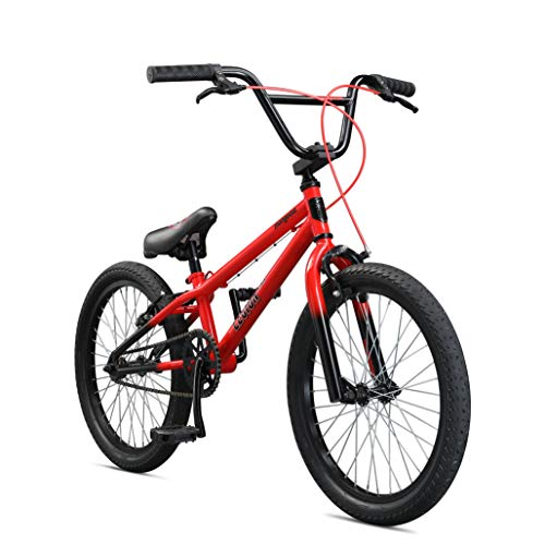 Mongoose-Legion-LSX-Freestyle-BMX-Bike-for-Kids-Featuring-Hi-Ten-Steel-Frame-and-36x16T-BMX-Gearing-with-20-Inch-Wheels-Red-0