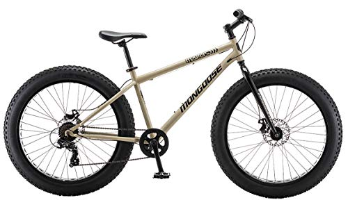 Mongoose-Malus-Mens-Fat-Tire-Bike-26-Inch-Wheels-Tan-0