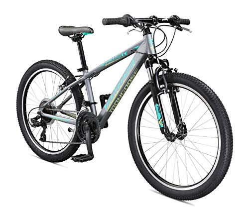 Mongoose-Rockadile-Kids-Hardtail-Mountain-Bike-with-24-Inch-Wheels-in-Charcoal-with-Aluminum-Step-Through-Frame-Shimano-21-Speed-Drivetrain-and-Front-Suspension-Fork-0