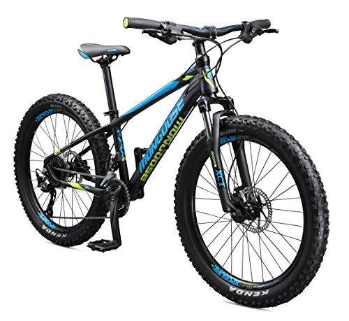 Mongoose-Tyax-Kids-Mountain-Bike-with-24-Inch-Wheels-in-Black-Aluminum-Hardtail-Frame-9-Speed-Drivetrain-and-Hydraulic-Disc-Brakes-0
