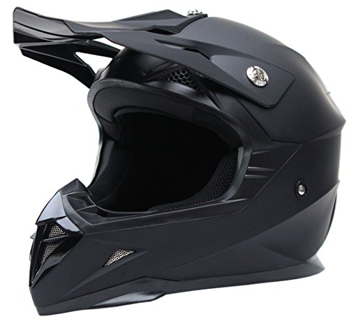 Motorcycle-Motocross-ATV-Helmet-DOT-Approved-YEMA-YM-915-Motorbike-Moped-Full-Face-Off-Road-Crash-Cross-Downhill-DH-Four-Wheeler-MX-Quad-Dirt-Bike-Helmet-for-Adult-Men-Women-Matte-BlackXL-0-0