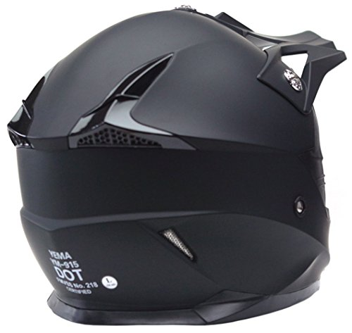 Motorcycle-Motocross-ATV-Helmet-DOT-Approved-YEMA-YM-915-Motorbike-Moped-Full-Face-Off-Road-Crash-Cross-Downhill-DH-Four-Wheeler-MX-Quad-Dirt-Bike-Helmet-for-Adult-Men-Women-Matte-BlackXL-0-1