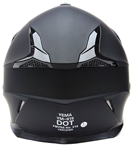 Motorcycle-Motocross-ATV-Helmet-DOT-Approved-YEMA-YM-915-Motorbike-Moped-Full-Face-Off-Road-Crash-Cross-Downhill-DH-Four-Wheeler-MX-Quad-Dirt-Bike-Helmet-for-Adult-Men-Women-Matte-BlackXL-0-2
