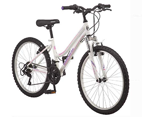 Roadmaster-24-Granite-Peak-Girls-Bike-Front-and-Rear-Handbrakes-Knobby-Mountain-Style-Tires-White-0