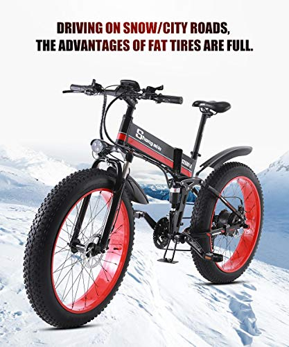 SHIJING-New-Electric-Snow-Scooter-Two-Wheel-Electric-Bicycles-40-Fat-Tire-Powerful-Electric-Bicycle-1000W-48V-Off-Road-Mountain-E-Bike-0