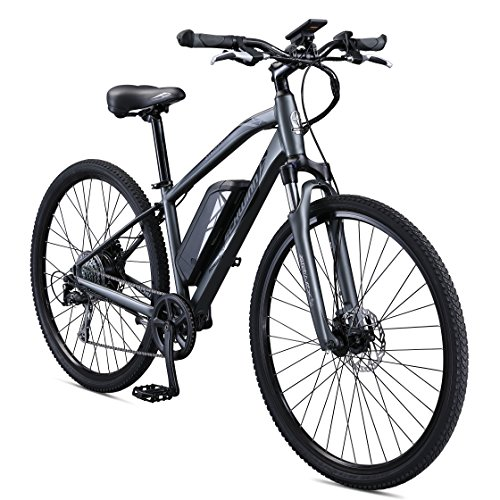 Schwinn-Sycamore-350-Watt-hub-Drive-MountainHybrid-Electric-Bicycle-8-speeds-Mens-Size-0