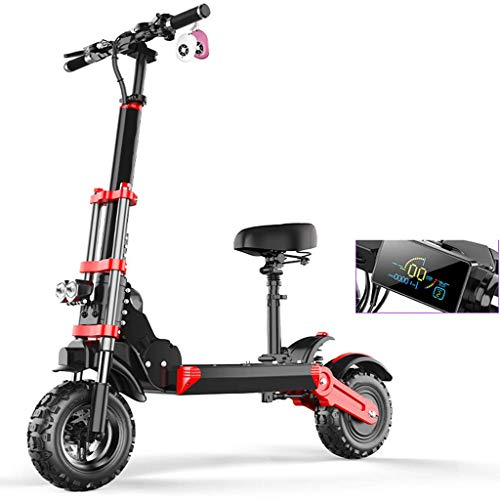 YPYJ-Folding-Electric-Car-Scooter-Electric-Scooter-Adult-Mini-Electric-Car-12-Inch-Off-Road-Shock-Absorption-Small-Air-Cushion-0