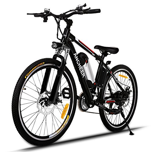 ANCHEER-Power-Plus-Electric-Mountain-Bike-26-Electric-Bike-with-Removable-36V-8Ah-Lithium-Ion-Battery-21-Speed-Shifter-Black-0