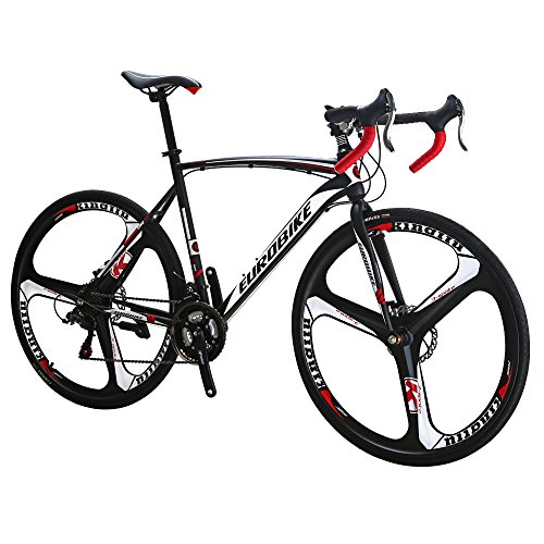 Eurobike-Bikes-EURXC550-21-Speed-Road-Bike-700C-Wheels-Road-Bicycle-Dual-Disc-Brake-Bicycles-0