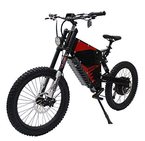 HYLH-Exclusive-Customized-FC-1-Stealth-Bomber-Electric-BicycleeBike-Mountain-72V-3000W-Motor-0