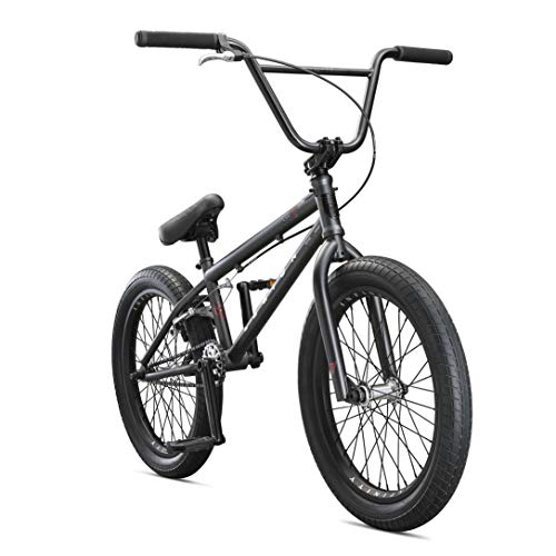Mongoose-Legion-L100-Freestyle-BMX-Bike-for-Advanced-Level-Riders-Featuring-4130-Chromoly-Frame-and-Double-Walled-Rims-with-20-Inch-Wheels-Black-0