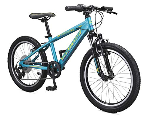 Mongoose-Rockadile-Kids-Hardtail-Mountain-Bike-with-20-Inch-Wheels-in-Teal-with-Aluminum-Step-Through-Frame-Shimano-7-Speed-Drivetrain-and-Front-Suspension-Fork-0