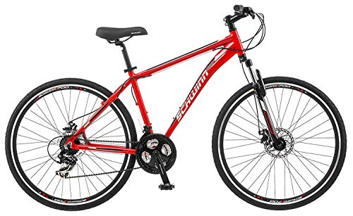 Schwinn-GTX-Comfort-Hybrid-Bike-Line-with-Front-Suspension-Featuring-16-18-Inch-Aluminum-Step-Through-or-Step-Over-Frame-and-21-24-Speed-Shimano-Drivetrain-with-700c-Wheels-Disc-Brakes-Available-0