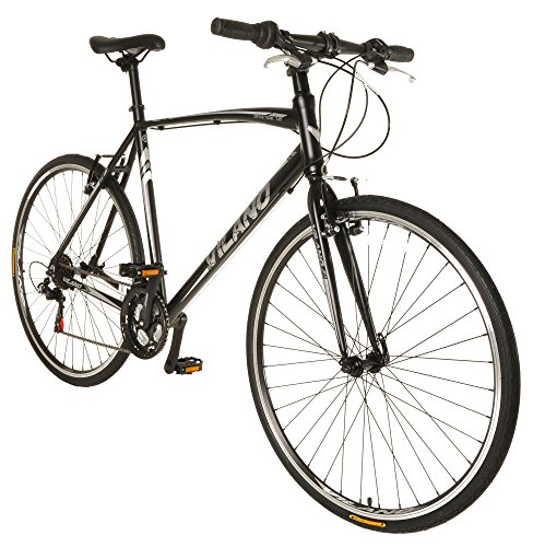 Vilano-Diverse-10-Performance-Hybrid-Bike-21-Speed-Road-Bike-700c-0
