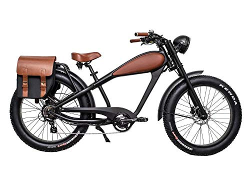 CIVIBIKES-48V-750W-Bafang-Vintage-Electric-Bike-Fat-Tire-Cheetah-Beach-Cruiser-Electric-Bike-BlackBROWNLEATHER-175Ah-Full-Bundle-100-Off-0