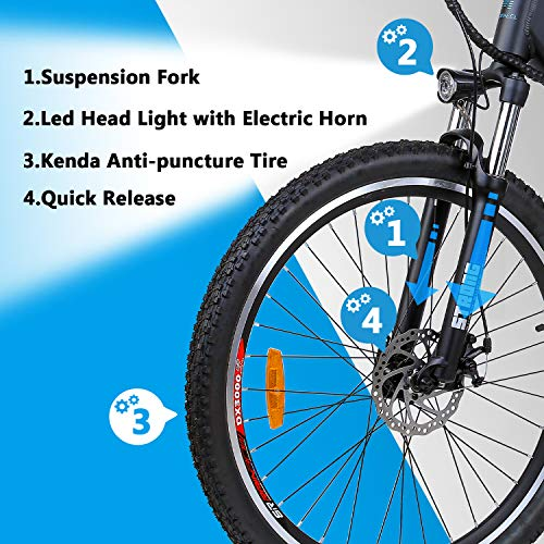 Electric-Bike-Mountain-Ebike-275-Removable-36V125Ah-Battery-Integrated-with-Frame-Shimano-7-Speed-Suspension-Fork-Front-Suspension-Tektro-Dual-Disc-brakes-for-Sport-Cycling-Wrangler-600-0-2