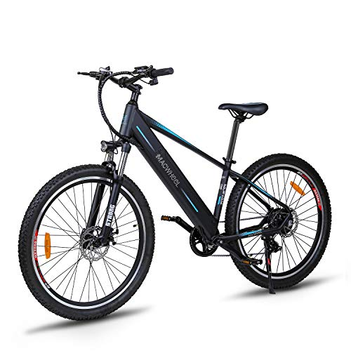 Electric-Bike-Mountain-Ebike-275-Removable-36V125Ah-Battery-Integrated-with-Frame-Shimano-7-Speed-Suspension-Fork-Front-Suspension-Tektro-Dual-Disc-brakes-for-Sport-Cycling-Wrangler-600-0
