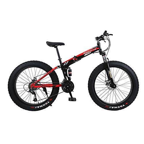 Gunai-Fat-Tire-Mountain-Bike-26-inch-High-Tensile-Steel-Frame21-Speed-with-Dual-Suspension-and-Disc-Brake-0-0