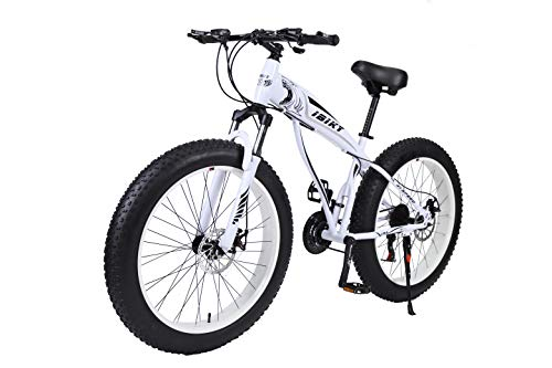 Ibiky-Fat-Tire-Mountain-Bike-26-Inch-Wheels-Multiple-Colors-40-inch-Fat-Tire-Snow-Bike-with-Powerful-Disc-Brakes-White-0-1