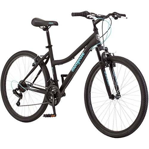 Mongoose-21-Speed-Adult-Steel-Frame-Ladies-Mountain-Bike-for-Women-26-Inch-Black-0-0