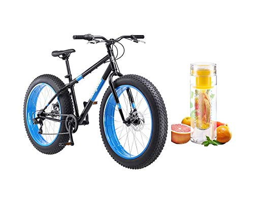 Mongoose-26-Hitch-Mens-All-Terrain-Fat-Tire-Bike-with-Bottle-BlackRed-0