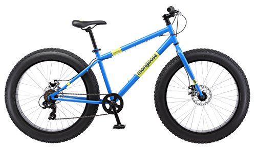 Mongoose-Dolomite-Fat-Tire-Mens-Mountain-Bike17-InchMedium-High-Tensile-Steel-Frame-7-Speed-26-inch-Wheels-Light-Blue-0-0