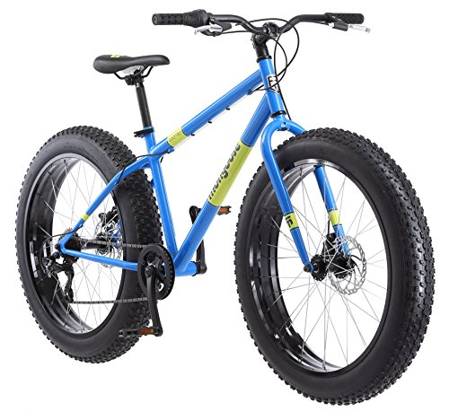 Mongoose-Dolomite-Fat-Tire-Mens-Mountain-Bike17-InchMedium-High-Tensile-Steel-Frame-7-Speed-26-inch-Wheels-Light-Blue-0
