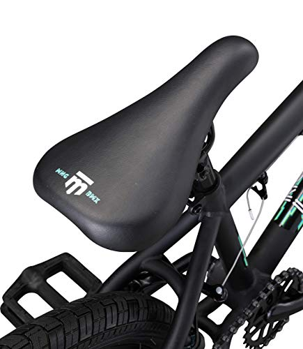 Mongoose-Legion-L10-Freestyle-BMX-Bike-for-Beginner-Level-Riders-Featuring-Hi-Ten-Steel-Frame-and-Micro-Drive-25x9T-BMX-Gearing-with-20-Inch-Wheels-Black-Renewed-0-3