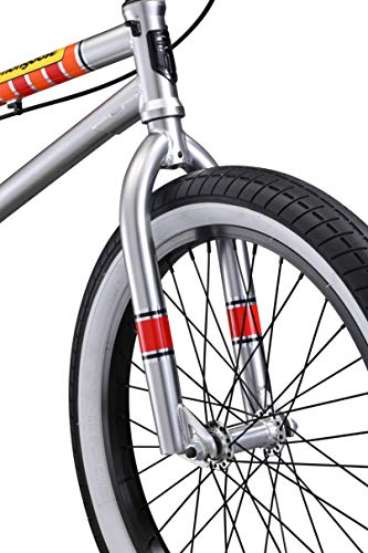 Mongoose-Legion-L100-Freestyle-BMX-Bike-Line-for-Beginner-Level-to-Advanced-Riders-Steel-Frame-20-Inch-Wheels-Silver-0-2