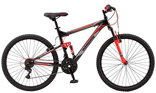 Mongoose-Status-22-26-Wheel-mens-bicycle-18medium-frame-size-black-R5500B-Renewed-0-1