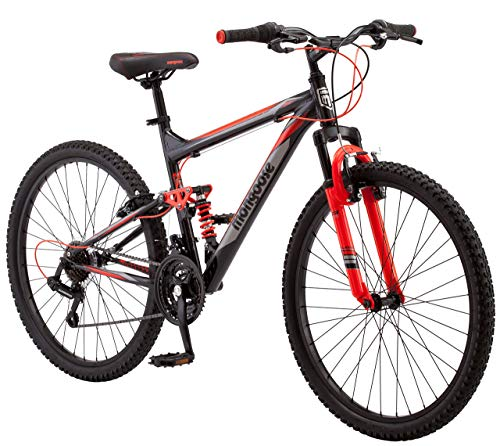 Mongoose-Status-22-26-Wheel-mens-bicycle-18medium-frame-size-black-R5500B-Renewed-0
