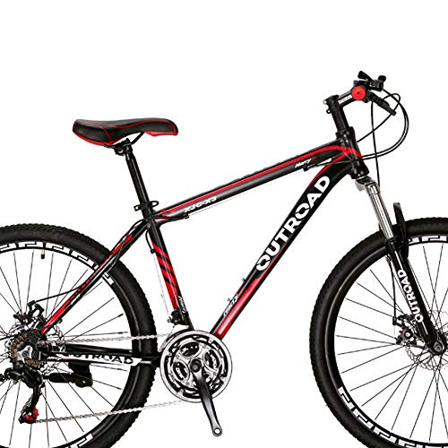 Outroad-Mountain-Bike-21-Speed-26-inch-Road-Bike-Commuter-Bicycle-Black-0-0