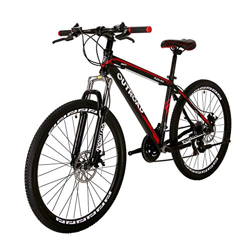 Outroad-Mountain-Bike-21-Speed-26-inch-Road-Bike-Commuter-Bicycle-Black-0-3